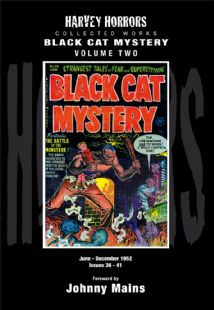 Harvey Horrors Collected Works - Black Cat Mystery (Vol 2)